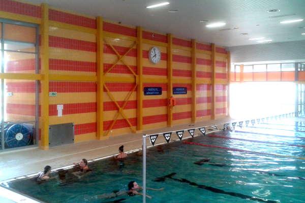 bazén Šutka - plavecké hodiny